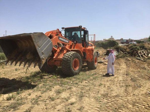 بلدية #النماص تواصل اعمالها في تطوير المحافظة