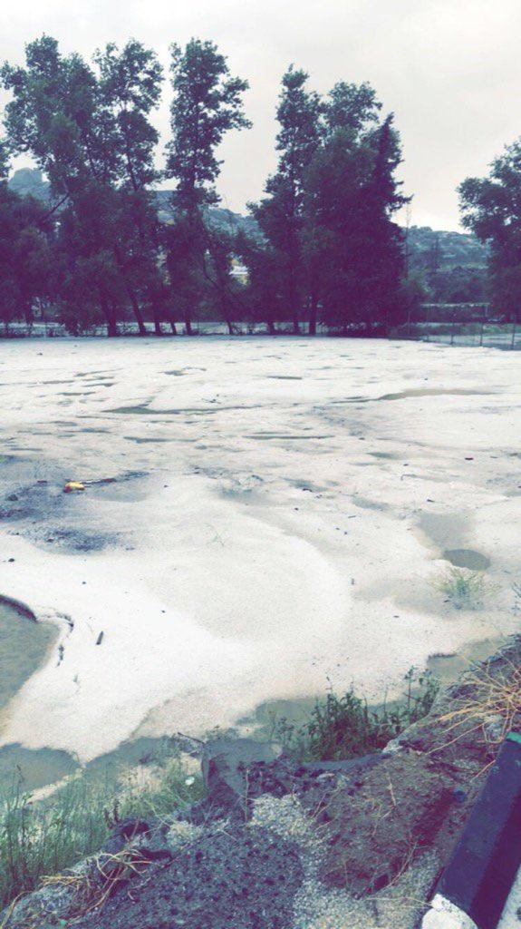 #أمطار على #تنومة و #النماص و #بلقرن