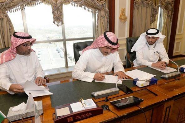 توقيع ترخيص إتاحة المحتوى العلمي بين جامعة الملك خالد ودار المنظومة