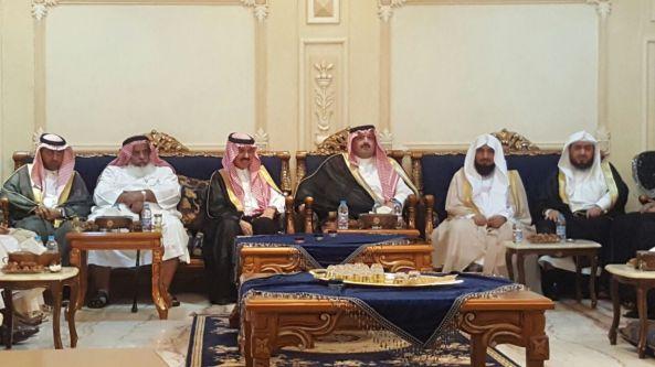اللواء الدكتور علي الجحني يقيم مأدبة عشاء على شرف صاحب السمو الملكي الامير تركي بن طلال بن عبدالعزيز