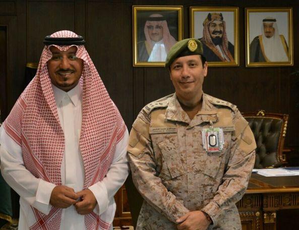 نائب امير منطقة عسير يستقبل مدير مستشفيات القوات المسلحة بالجنوب
