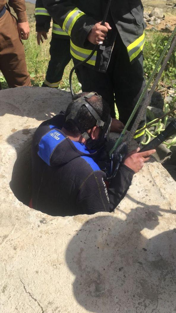 """وفاة عاملين على إثر سقوطهم في """"غرفة تفتيش"""" بخميس مشيط"""