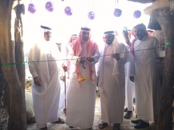 """افتتاح سوق للأسر المنتجة ومطعم تراثي بقرية """"آل النييح التراثية"""" بـ #النماص"""