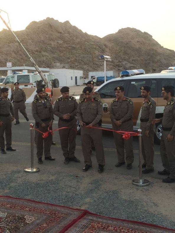 اللواء القرزعي يدشن عدد من مراكز الضبط الأمني في #عسير