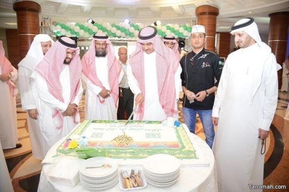 مدير جامعة الملك خالد يرعى حفل المعايدة السنوي