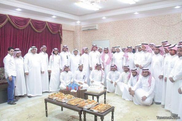 بلدية محافظة بارق تقيم حفل معايدة لمنسوبيها