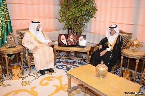 أمير عسير يستقبل نائب الرئيس التنفيذي للشركة السعودية للكهرباء