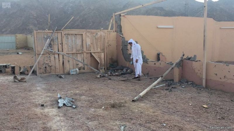 تعرض أحياء سكنية بمدينة نجران لمقذوفات عسكرية من داخل الأراضي اليمنية