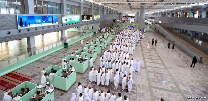 وصول أكثر من 1,5 مليون حاج إلى المملكة عبر الموانئ الجوية والبرية والبحرية