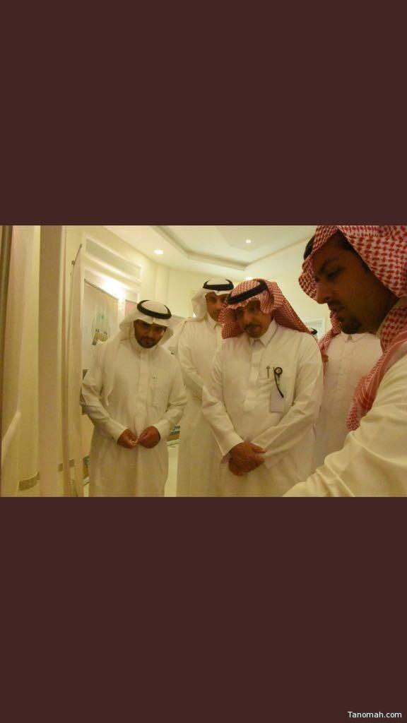 أمين منطقة عسير يزور تنومة ويلتقي المجلس البلدي