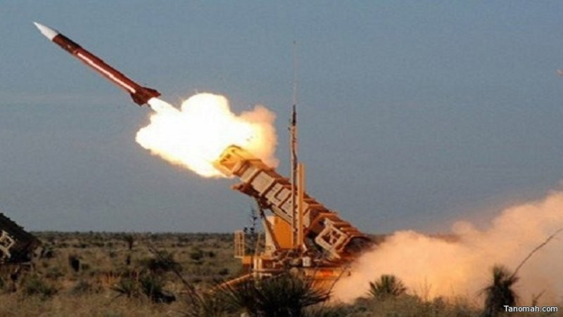 """""""التحالف"""": قوات الدفاع الجوي الملكي السعودي تعترض وتدمِّر صاروخًا باليستيًّا أُطلق باتجاه أراضي المملكة"""