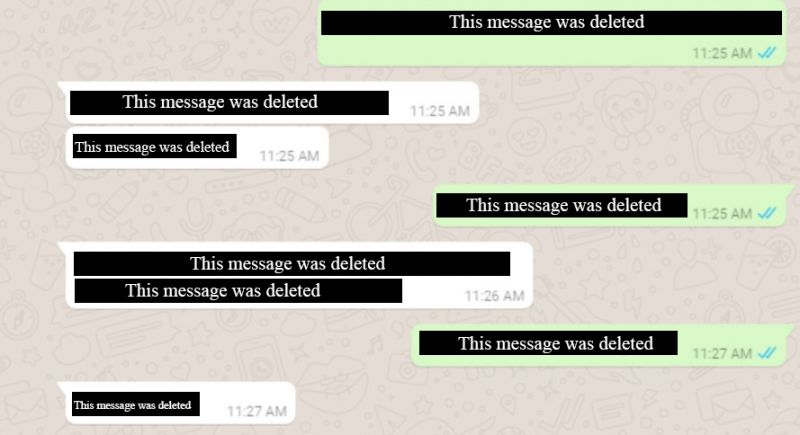 واتساب تضيف خاصية حذف الرسائل بعد إرسالها