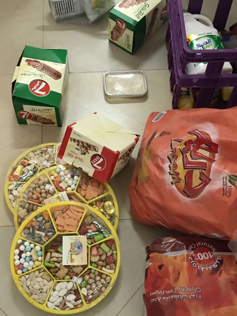 بلدية #بارق تصادر مواد غذائية منتهية الصلاحية من محلات صحية بمركز ثلوث المنظر