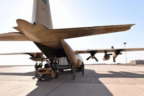 التحالف: تعلن تشغيل مطار الغيظة اليمني بالمهرة واستقبال أولى الطائرات الإغاثية من مركز الملك سلمان للإغاثة