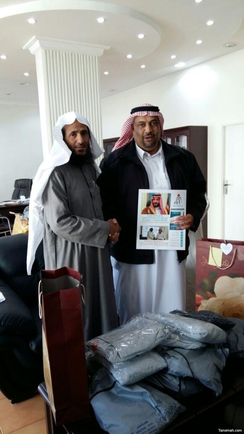توقيع عقد شراكة بين ثانوية البنات بآل الشيخ ببني عمرو مع جمعية رعاية الأيتام بالنماص
