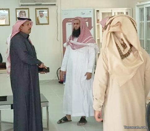 """""""الشهراني """"يتفقد خدمات مكتب الضمان الاجتماعي بمحافظة تثليث ومركز الأمواه التابعة لمنطقة عسير"""