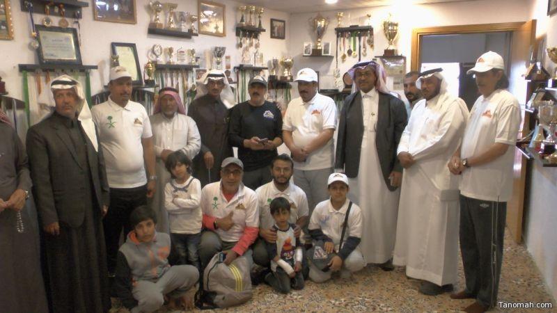 هايكنج #السعودية بعسير في زيارة لمنزل العداء العاصمي الحاصل على مركز الأول في رياضة الجري بمدينة الرياض