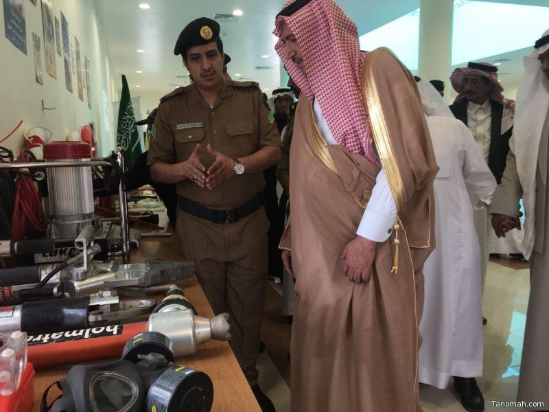 آل محضي يفتتح فعاليات اليوم العالمي للدفاع المدني بمحافظة تنومة