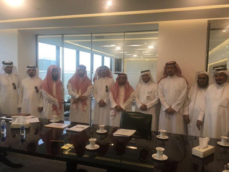 رئيس وأعضاء المجلس البلدي ورئيس البلدية بـ #النماص يلتقون المسؤولين في الرياض