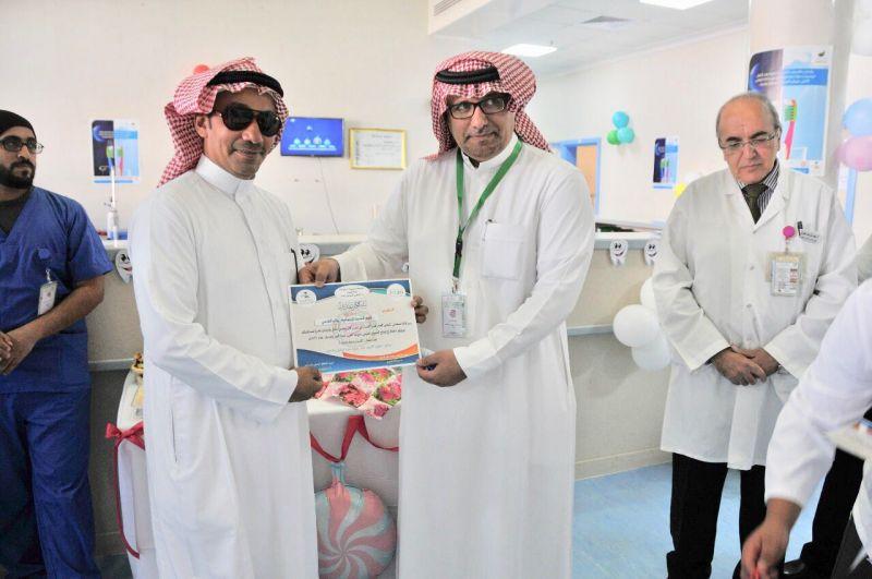 بالصور: طب الأسنان بقطاع #النماص يحتفل بالأسبوع الخليجي الموحد لتعزيز صحة الفم والأسنان
