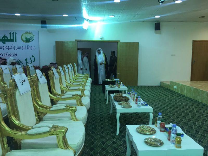 محافظ #تنومة يرعى حفل الشباب المقبلين على الزواج