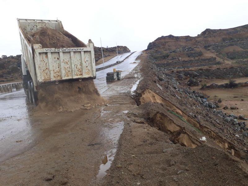 بلدية محافظة #النماص تستعد بخطة للطوارئ لمواجهة هطول #الأمطار