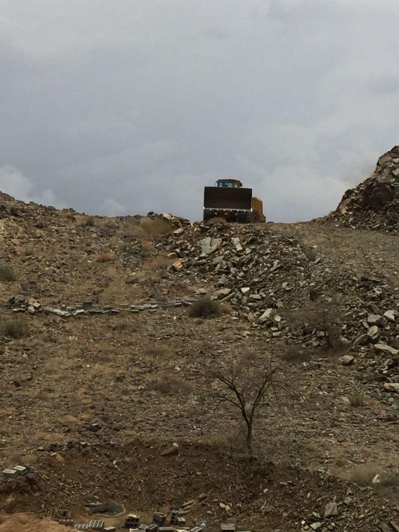أمانة عسير تزيل تعديات بمساحة زادت على 2 مليون متر مربع بأبها