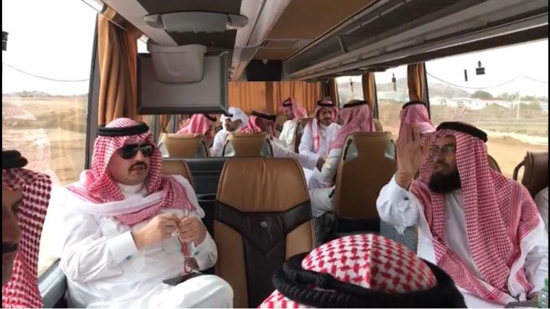 الأمير تركي بن طلال يتفقد مشروع المدينة الجامعية بالفرعاء