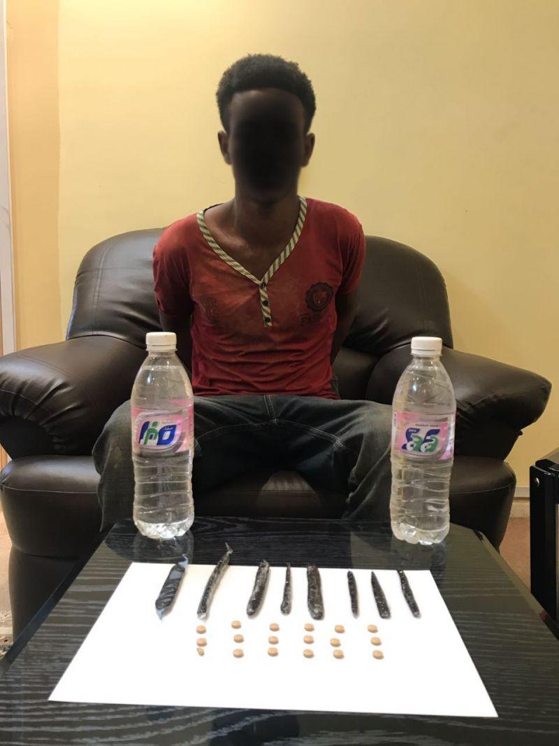 الجهات الأمنية في #تنومة تطيح بأحدر مروجي المخدرات
