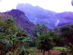 الطبيعة والجمال تسحر عشاقها في جبل تهوى  بالمجاردة