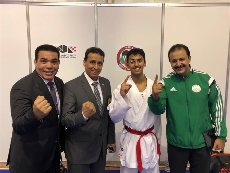 شاب سعودي يتأهل كأول لاعب كاراتيه عربي إلى دورة الأولمبياد بالأرجنتين