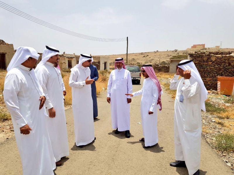 المجلس البلدي و رئيس بلدية بللحمر في جولة ميدانية