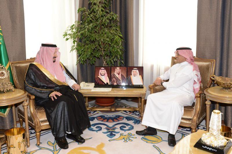 أمير عسير يستعرض مشاريع وكالة وزارة الداخلية للقدرات الأمنية بالمنطقة