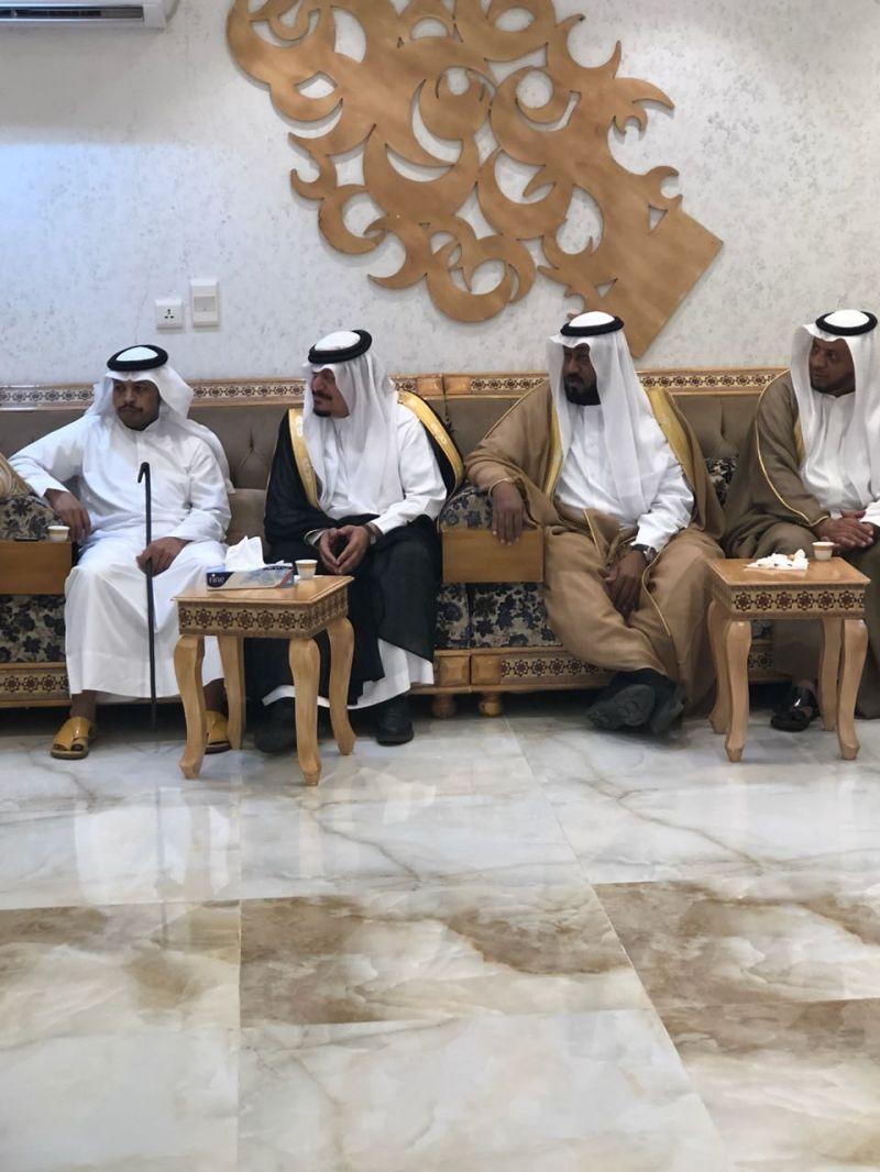 الشيخ المعطاني في ضيافة الشيخ علي بن عبدالوهاب
