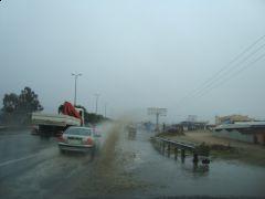 امطار متفرقة على محايل وبعض مناطق عسير