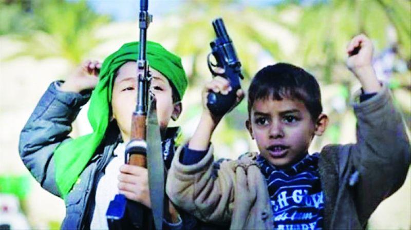 «سلام بلا حدود الدولية»: أنقذوا أطفال اليمن من التجنيد الحوثي الاجرامي