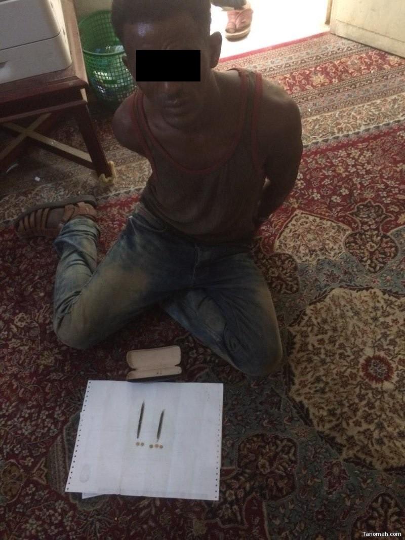 القبض على اخطر مروج للمخدرات في #محايل