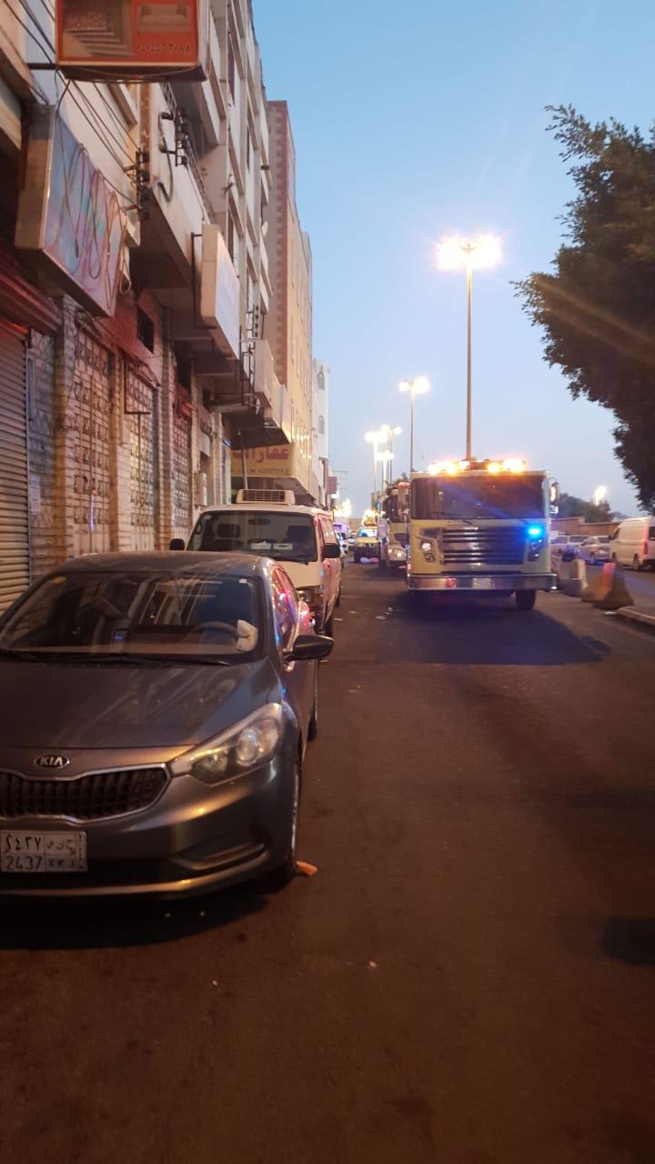 وفاة مقيم في حادث حريق مبنى بخميس مشيط