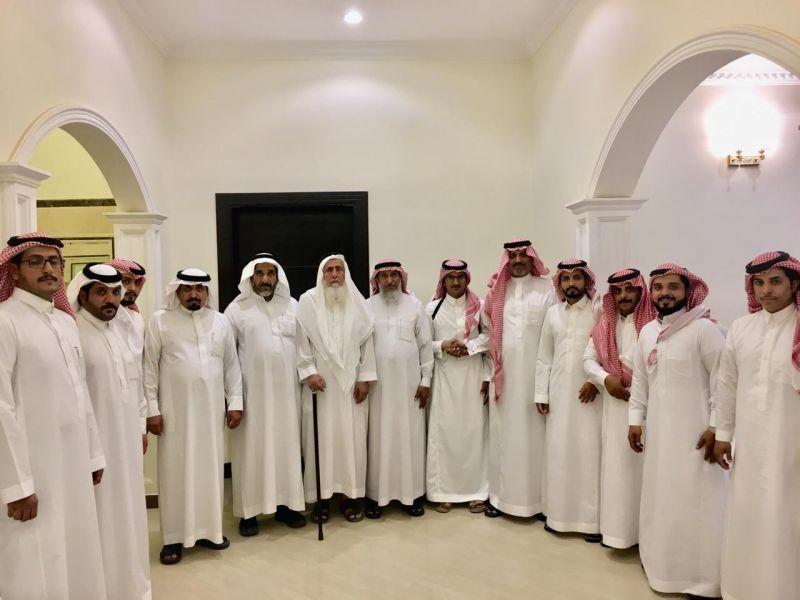 آل عبدالله يحتفون بمشاري ملازماً