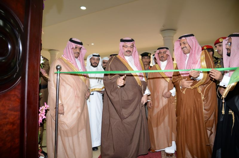 نائب أمير عسير يفتتح معرض جامعة الملك خالد الخامس عشر للكتاب والمعلومات
