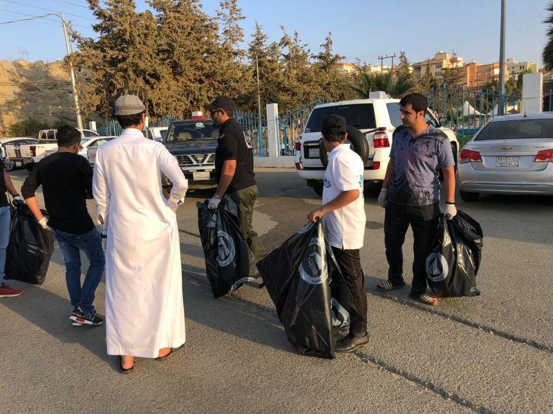 """مبادرة """" حديقتي مسؤوليتي """" تصل محافظة النماص"""