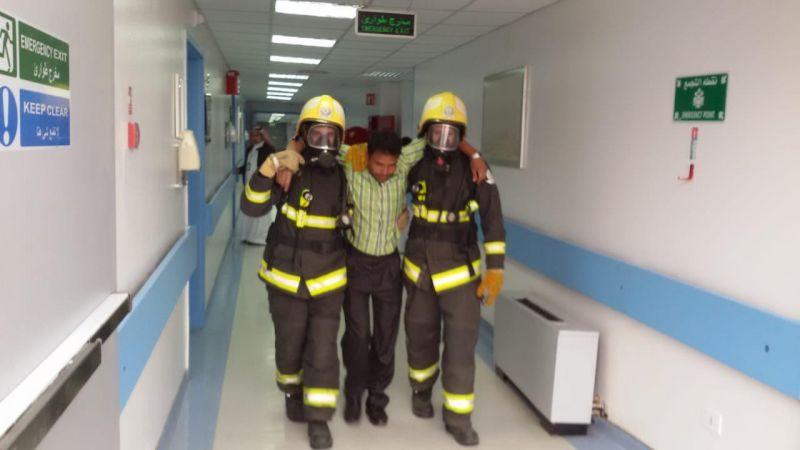 نجاح تجربه فرضية بمستشفى النماص العام .