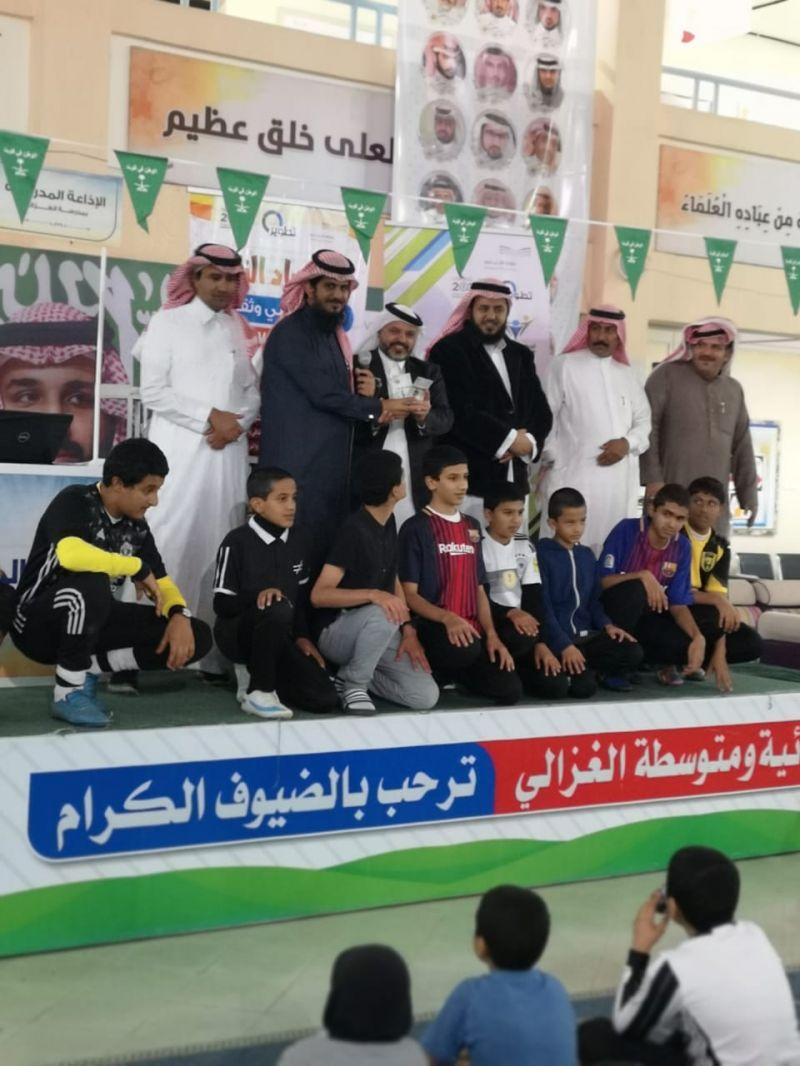نادي الحي بالغزالي يختتم أولمبياد النادي بمشاركة أكثر من 80 طالب