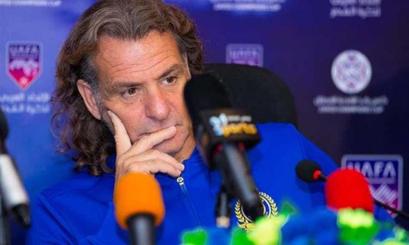 """رسميا.. النصر يعلن إقالة """"كارينيو"""".. و""""كريستوفاو"""" مدرباً للفريق أمام الاتفاق"""