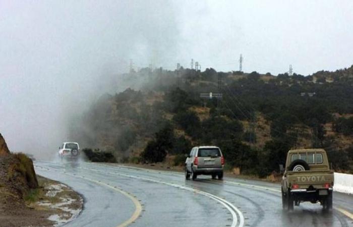 """""""الأرصاد"""" تطلق تنبيهات لهطول أمطار مصحوبة برياح نشطة على الرياض ومكة وعسير"""