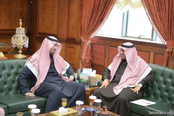 مدير جامعة الملك خالد ومدير أحوال عسير يبحثان سبل التعاون بين الجهتين