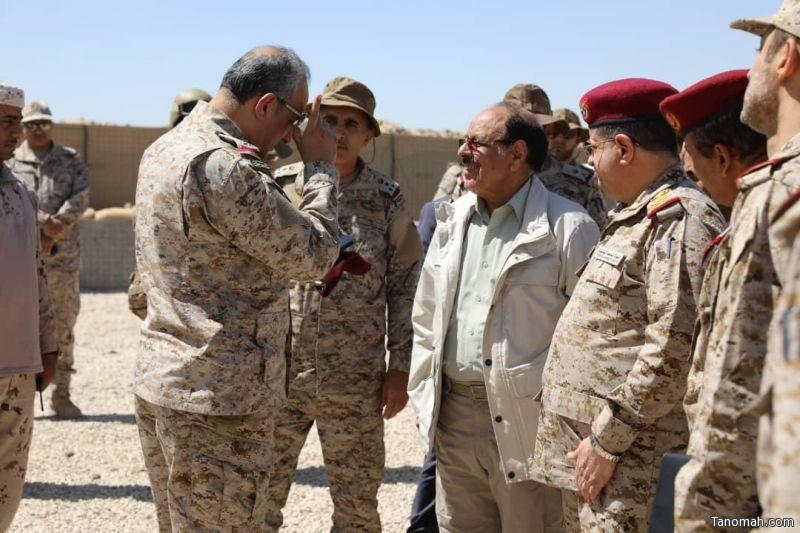 """قيادة القوات المشتركة للتحالف """" تحالف دعم الشرعية في اليمن """" تعقد اجتماعها العسكري  في مأرب."""