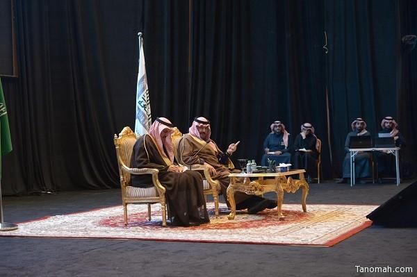 أمير عسير يلتقي طلاب وأساتذة جامعة الملك خالد