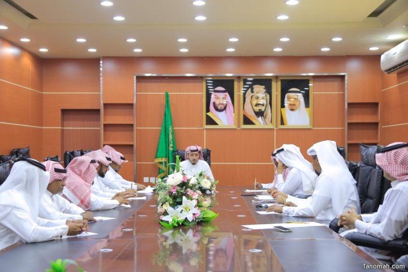 محافظ بارق يرأس اجتماع المجلس المحلي