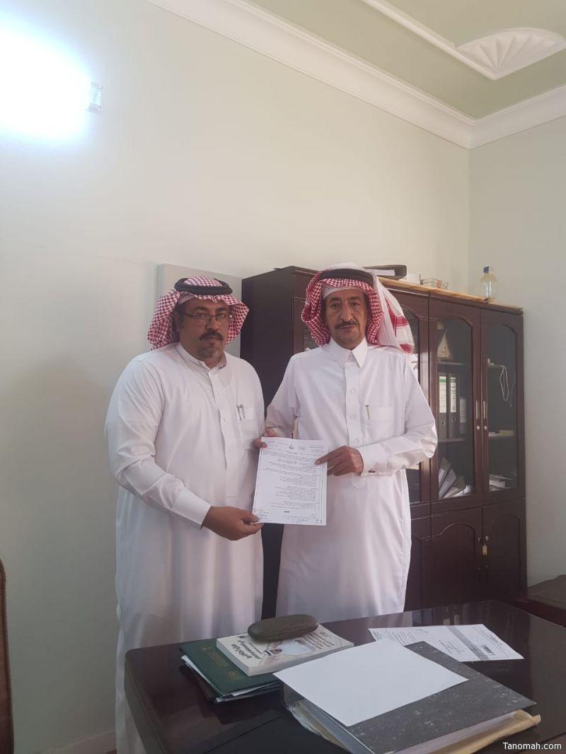 توقيع عقد شراكة بين رابطة عسير الخضراء وزراعة #تنومة